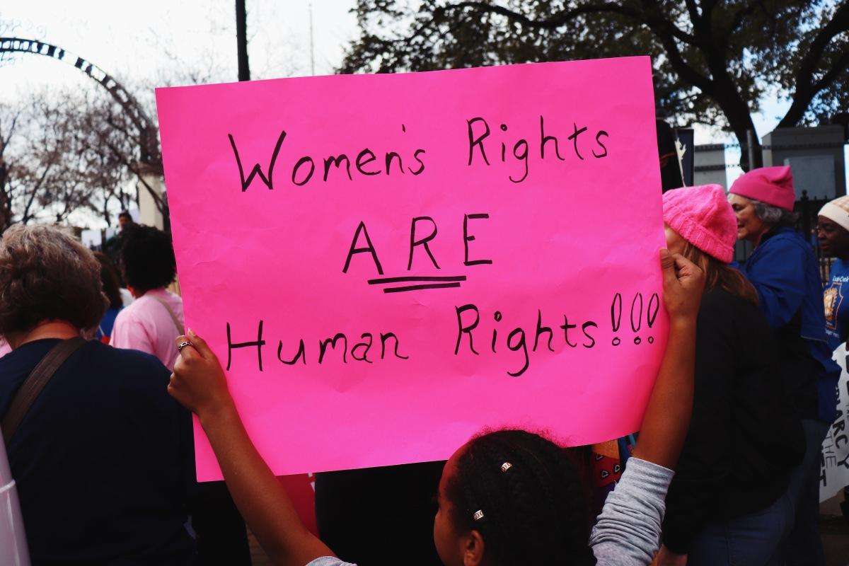 Dallas Women's March2018